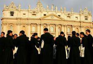 preti in vaticano
